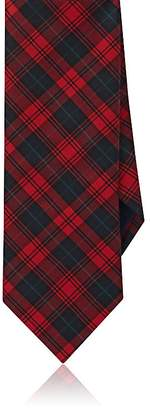 Barneys New York MEN'S PLAID SILK NECKTIE