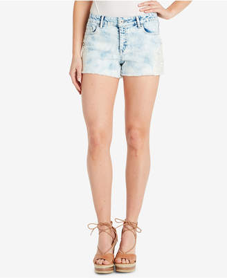 d79a60cda0 ... SHOP at Macy's · Jessica Simpson Juniors' Cherish Lace-Applique Denim  Shorts