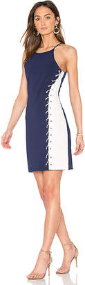 Parker Florence Dress in Blue $315 thestylecure.com