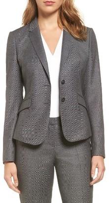 Women's Boss Jalinera Wool Suit Jacket $595 thestylecure.com