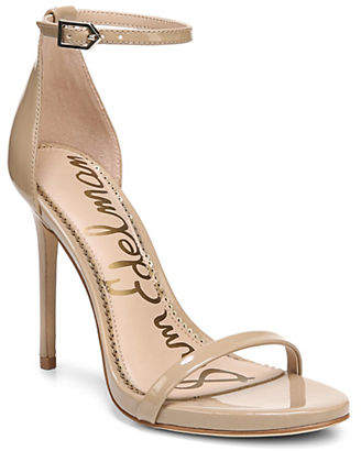 Sam Edelman Ariella Patent Leather Ankle-Strap Sandals