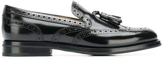 Church's patent leather loafers