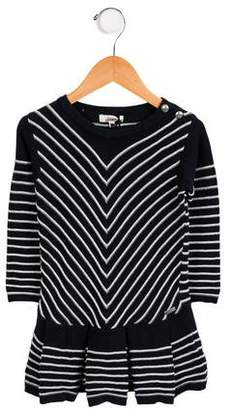 Junior Gaultier Girl's Knit Striped Dress w/ Tags