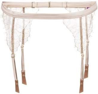 Maison Close 'Jardin Imperial' garter belt