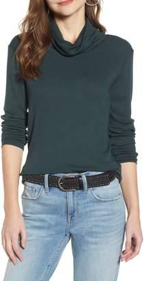 Treasure & Bond Ribbed Cowl Neck Sweater