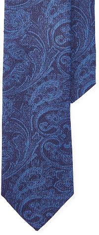 Polo Ralph LaurenPolo Ralph Lauren Paisley Linen Narrow Tie