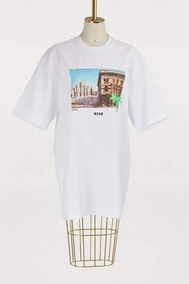 MSGM Milano cotton T-shirt