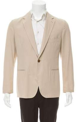 Hermes Unlined One-Button Blazer