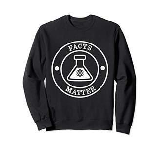 Facts Matter Retro Vintage Style Sweatshirt