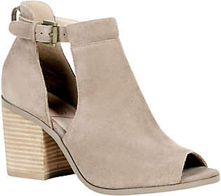Sole Society Suede Block Heel Sandal - Ferris
