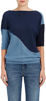 J.W.Anderson Women's Infinity Patchwork Linen Sweater
