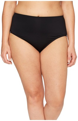 Jantzen - Plus Size Solids Comfort Core Bottom Women's Swimwear $46 thestylecure.com