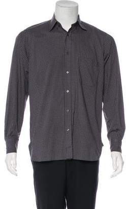 Luciano Barbera Gingham Button-Up Shirt