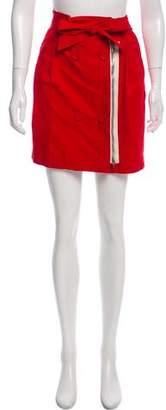 3.1 Phillip Lim Belted Mini Skirt
