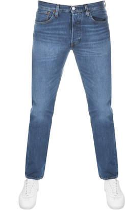 4151647153e9 at Mainline Menswear · Levi s Levis 501 Original Fit Jeans Blue