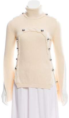Monse Wool Turtleneck Sweater
