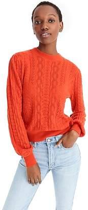 J.Crew DemyleeTM X long-sleeve pointelle sweater