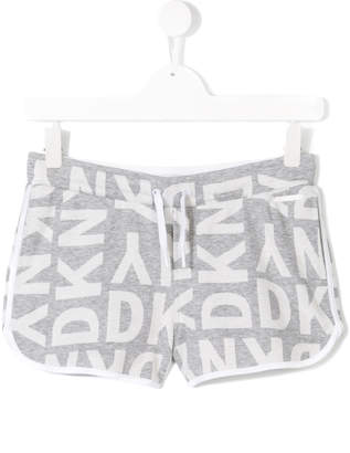 DKNY logo printed casual shorts