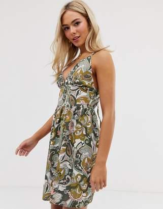 Love floral mini dress