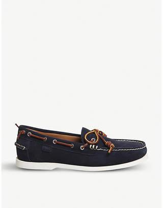 Polo Ralph Lauren Millard suede boat shoes