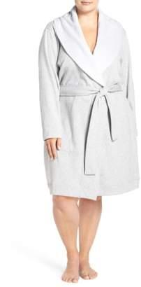 UGG 'Blanche' Plush Shawl Collar Robe