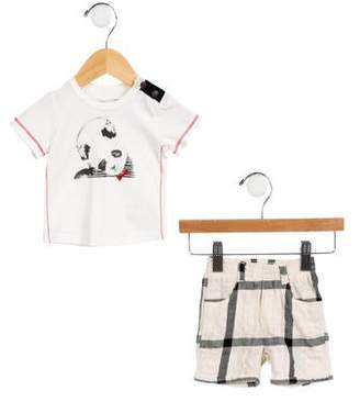 Jean Bourget Boys' Panda Graphic Set