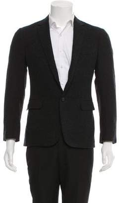 Ralph Lauren Black Label Cashmere-Blend Two-Button Blazer