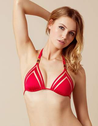 Agent Provocateur Tora Bikini Top Red