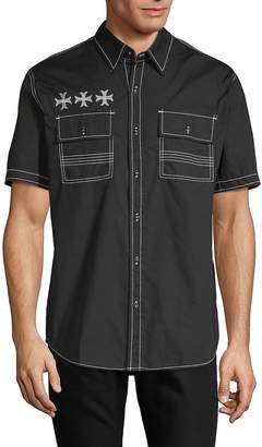 Affliction Men's Ruminate Cotton Button-Down Shirt