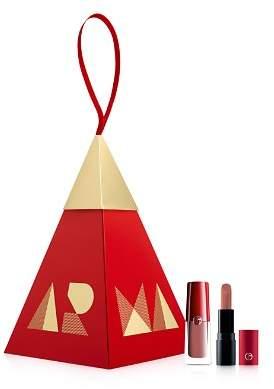 Giorgio Armani Nude Lip Duo Ornament Gift Set