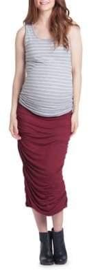 Maternity Striped Tank Top