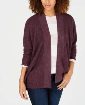Style&Co. Style & Co Ribbed Open-Front Cardigan, Created for Macy's