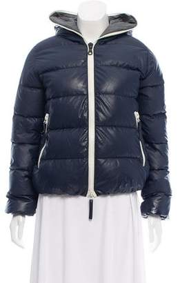 Duvetica Hooded Puffer Down Jacket