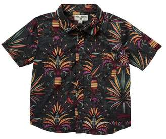 Billabong Sundays Floral Short Sleeve Shirt (Toddler & Little Boys)