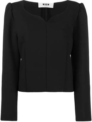 MSGM structured top