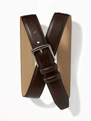Old Navy Faux-Leather Belt for Men