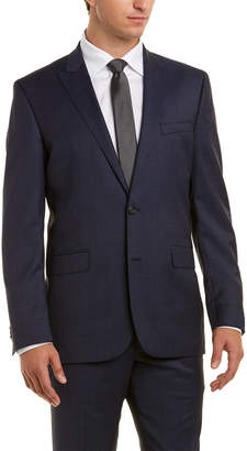 Kenneth Cole New York 2Pc Wool Suit With Pleated Pant