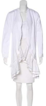 Marni Ruffled Open-Front Jacket