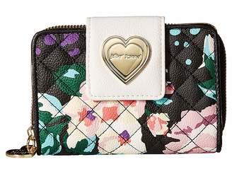Betsey Johnson Tab Bifold Wallet Wallet Handbags