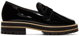 Repetto Black Gaylor Lug Sole Loafers