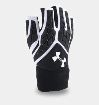 Under Armour Men's UA Combat V Half-Finger Football Gloves
