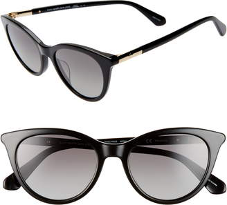 Kate Spade Janalynns 51mm Polarized Cat Eye Sunglasses