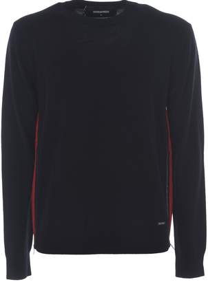 DSQUARED2 Zip Panel Sweater