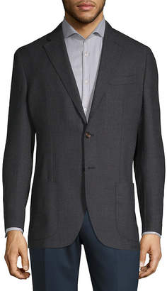 Luciano Barbera Wool Sport Coat