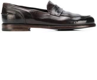 Alberto Fasciani round toe loafers
