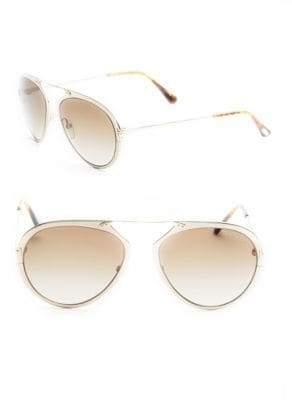 Tom Ford 53MM Aviator Sunglasses