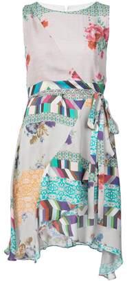 Nicole Miller floral pattern dress