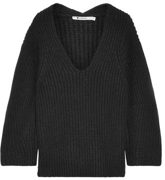 T by Alexander Wang - Chunky-knit Sweater - Black