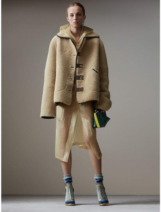 Burberry Shearling and Lambskin Jacket