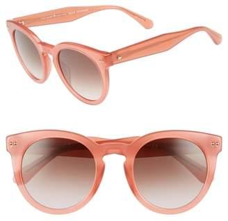 Kate Spade Alexuss 50mm Round Sunglasses